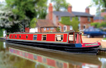 The H-Mist canal boat